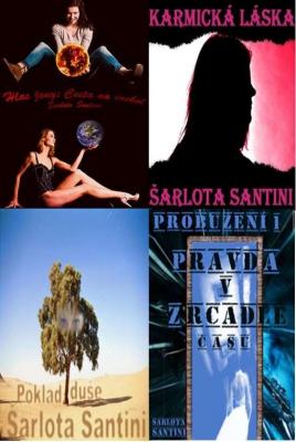 Kolekce knih Šarloty Santini