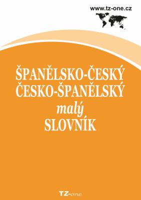 Španělsko-český / česko-španělský malý slovník