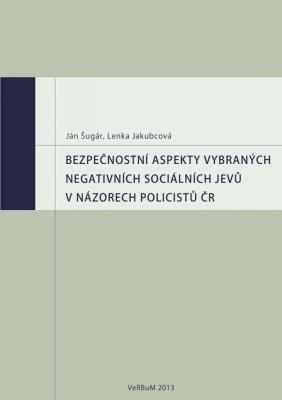 Bezpečnostní aspekty vybraných negativních sociálních jevů v názorech policistů ČR
