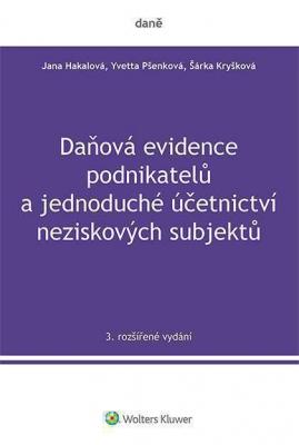 Daňová evidence podnikatelů a jednoduché účetnictví neziskových subjektů, 3. rozšířené vydání