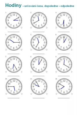 Hodiny určování času