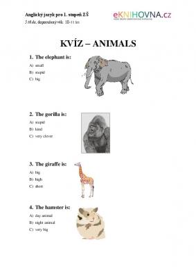 Anglický jazyk pro 5. třídu II.