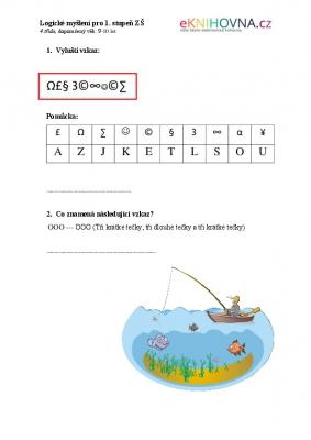 Logické myšlení pro 4. třídu
