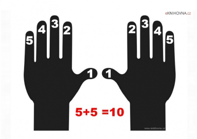 Počítání na prstech 1 až 10